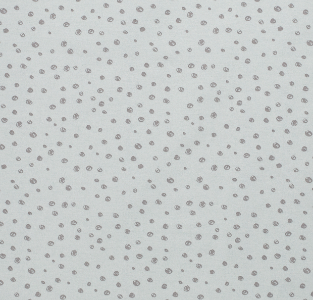 Ottoman fabric Dots Mint