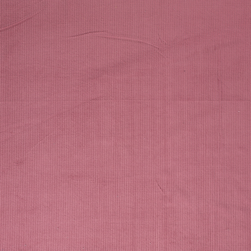 Corduroy fabric Old Pink matte