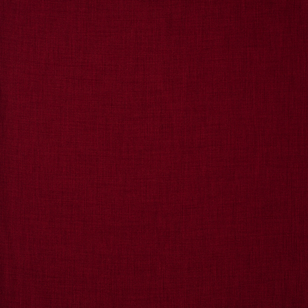 Panama fabric Unicolour Dark Red