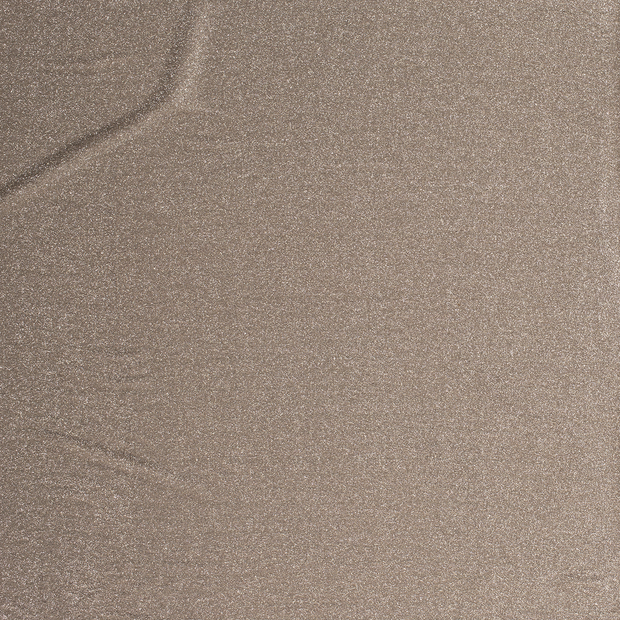 Jersey fabric Beige shimmering