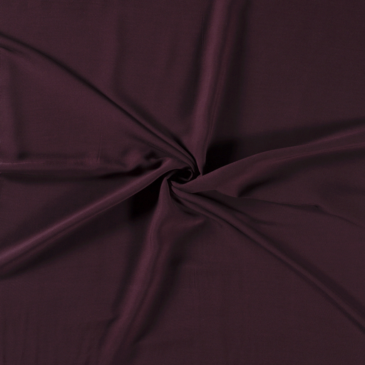 Viscose fabric Bordeaux