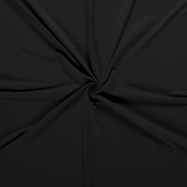 French Terry fabric Black