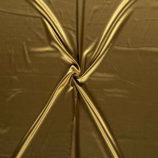 Satin fabric Gold