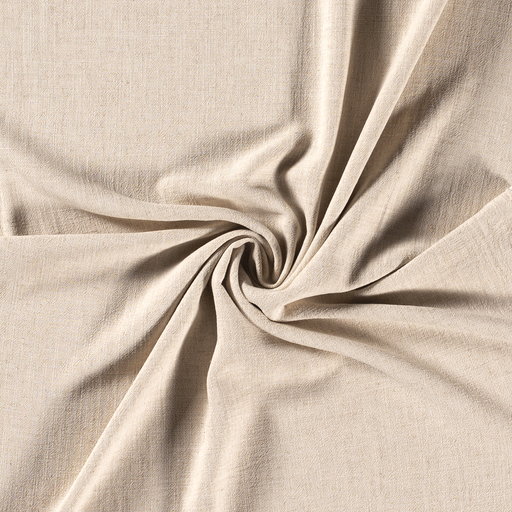Linen Look fabric Off White