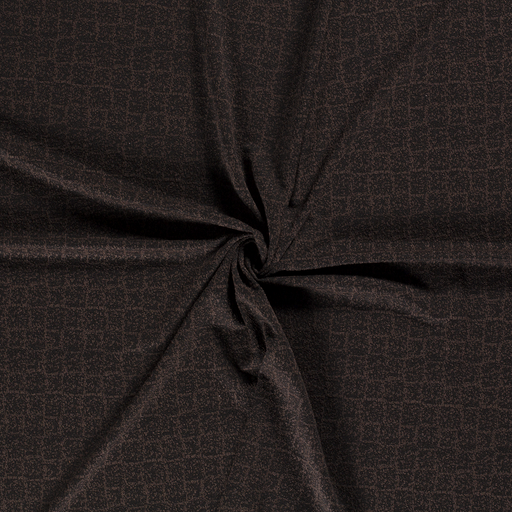 Knitted fabric fabric Taupe Brown