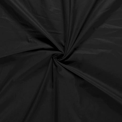 Cretonne fabric Black