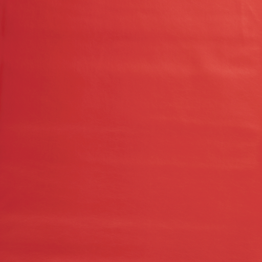 Imitation leather fabric Red silk matte