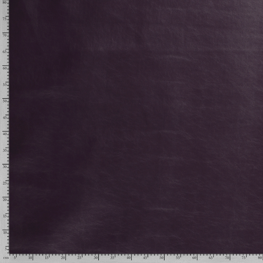 Imitation leather fabric Unicolour backed