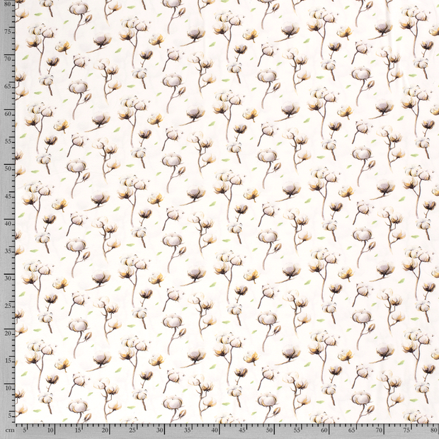 Tricot fabric Off White