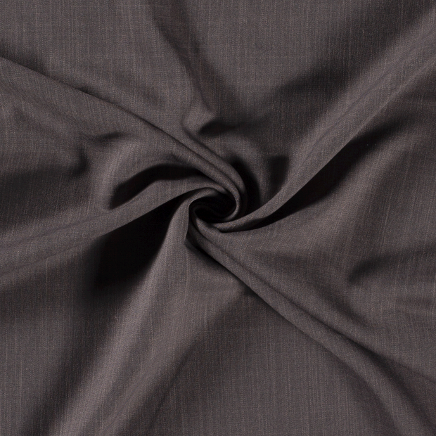 Twill fabric Unicolour Taupe Brown
