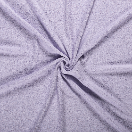 Towelling fabric Lavender