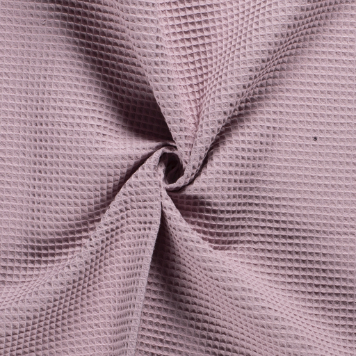 Towelling fabric Unicolour Old Pink