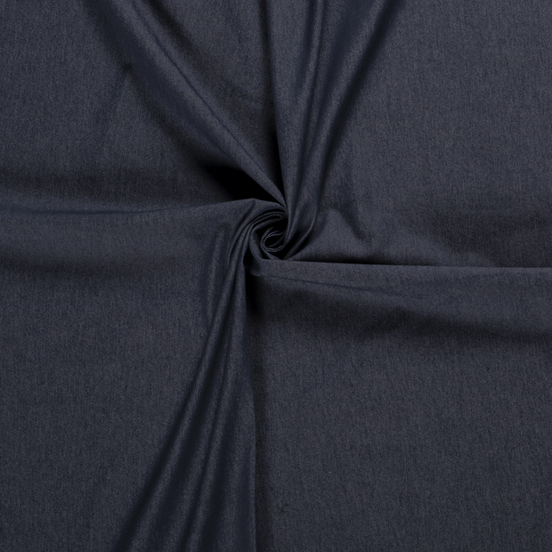 Denim fabric Navy pre-washed