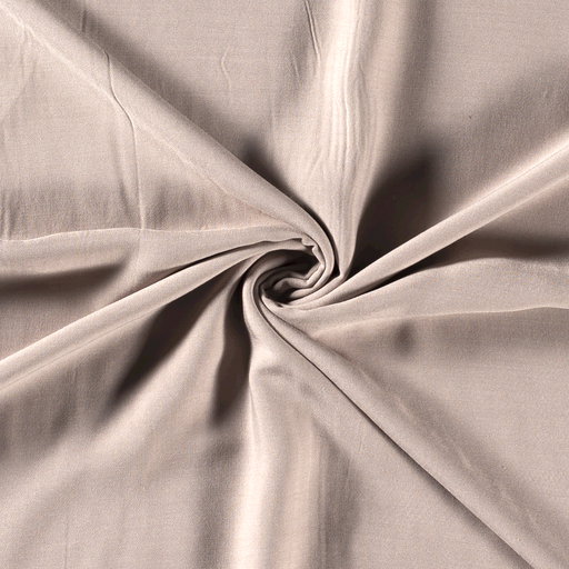 Viscose fabric Unicolour Beige