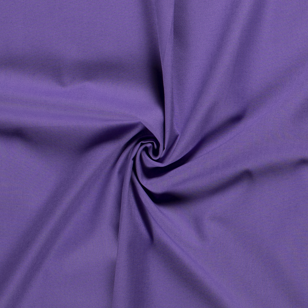 Cretonne fabric Unicolour Lavender