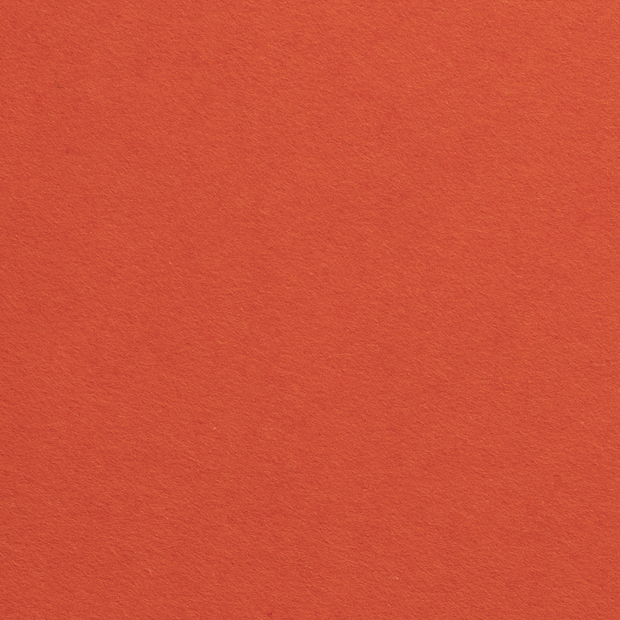 Felt fabric Unicolour Orange
