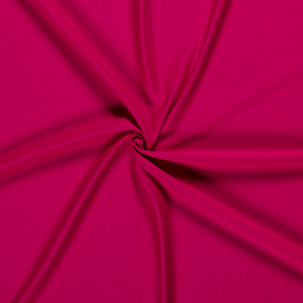 Jersey fabric Unicolour Fuchsia