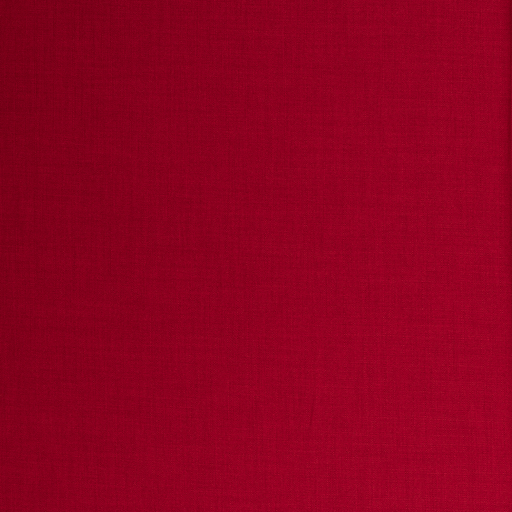 Panama fabric Red matte