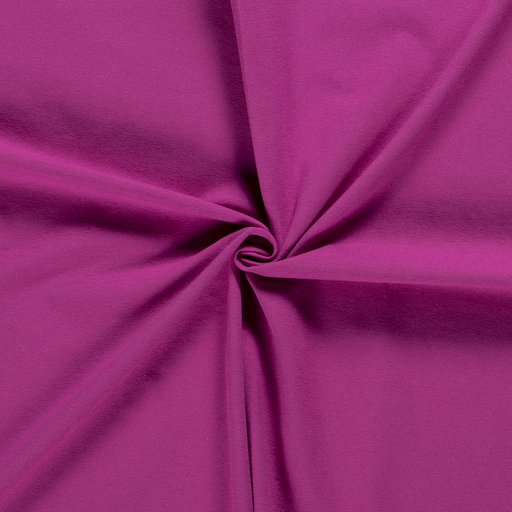 Tricot fabric Unicolour Fuchsia