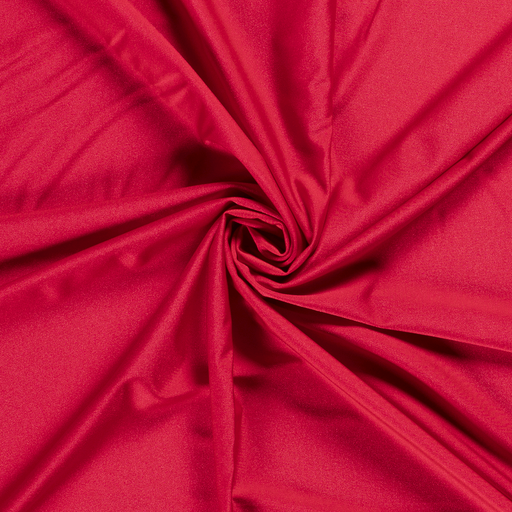 Jersey fabric Unicolour Red