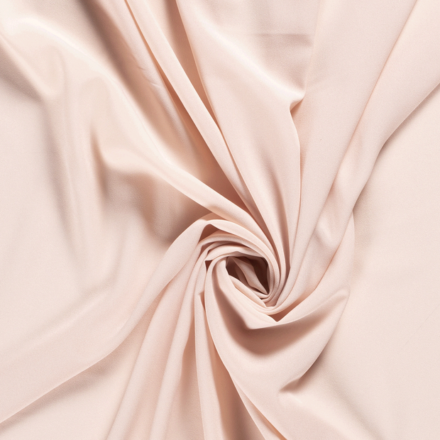 Georgette fabric Unicolour Salmon
