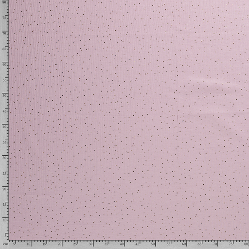 Muslin fabric Dots foiled