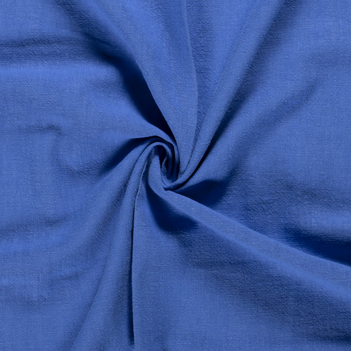 Ramie Linen fabric Unicolour Cobalt