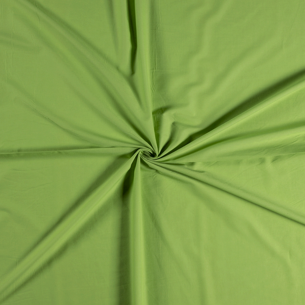 Voile fabric Lime Green