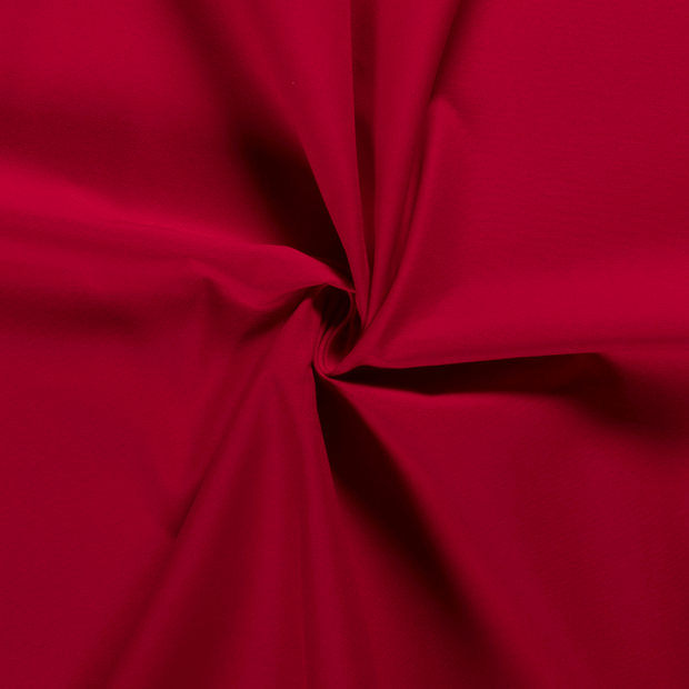 Twill fabric Unicolour Red