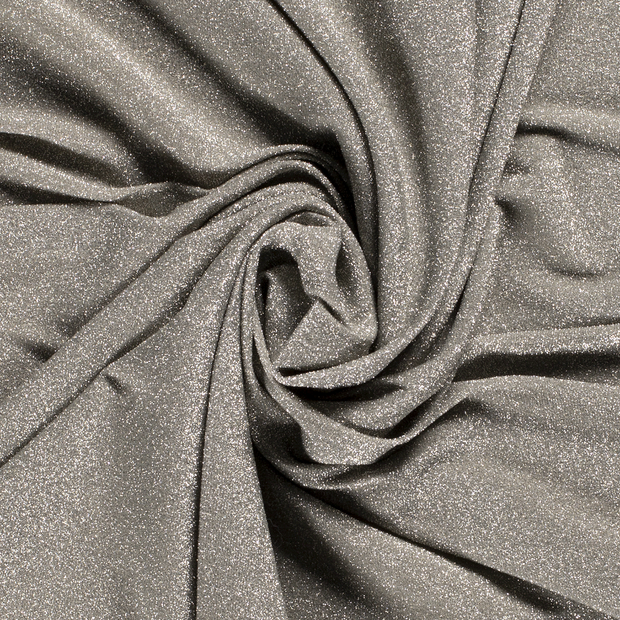 Jersey fabric Unicolour Khaki Green