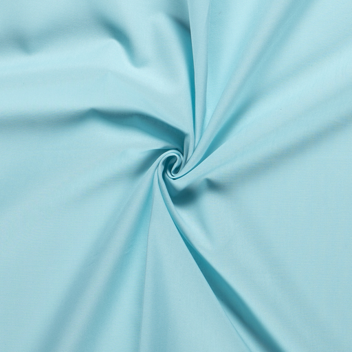 Cretonne fabric Unicolour Baby Blue
