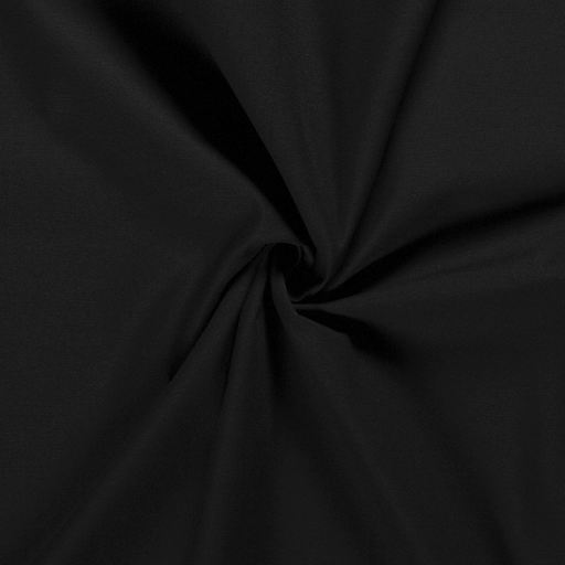Twill fabric Unicolour Black