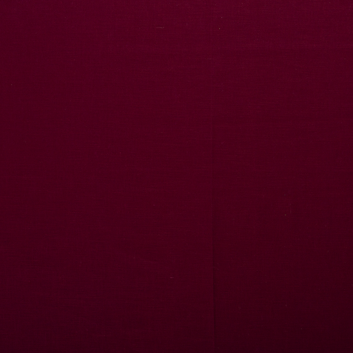 Pure linen fabric Wine red matte