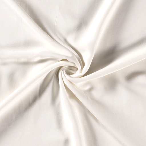 Viscose fabric Unicolour Off White