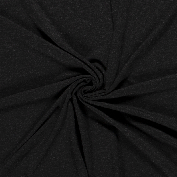 Jersey fabric Unicolour Dark Grey