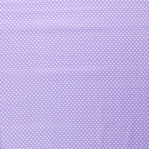 Poplin fabric Lila soft