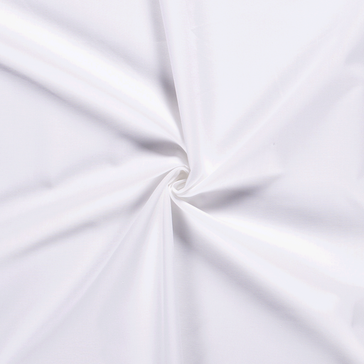 Cretonne fabric Unicolour Optical White