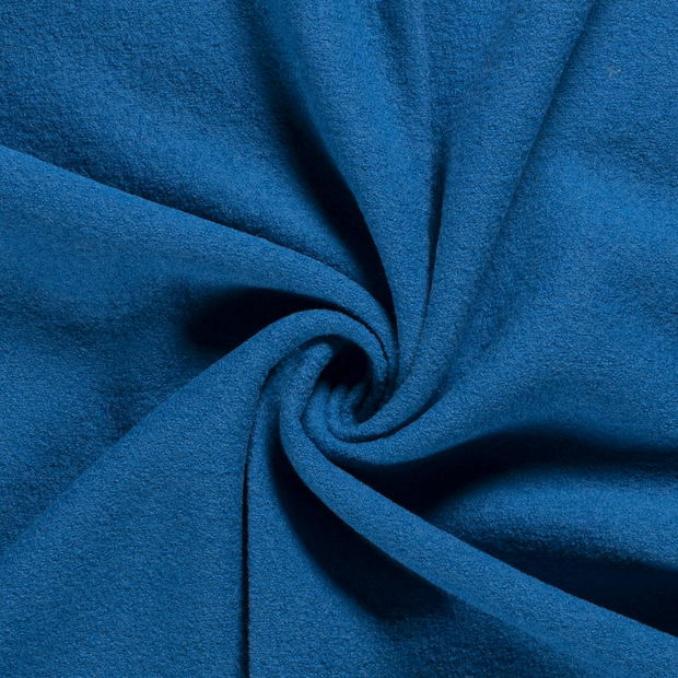 Woollen cloth fabric Unicolour Aqua