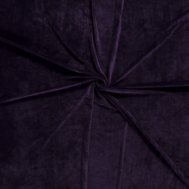 Velvet fabric Purple