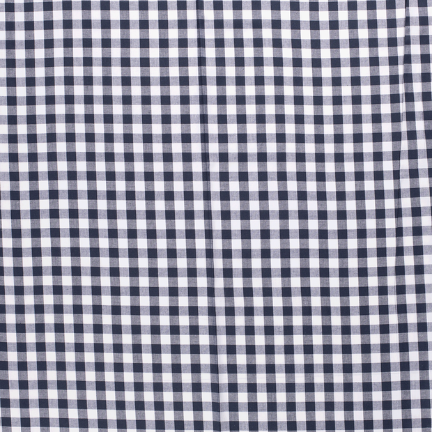 Cotton others fabric Navy matte