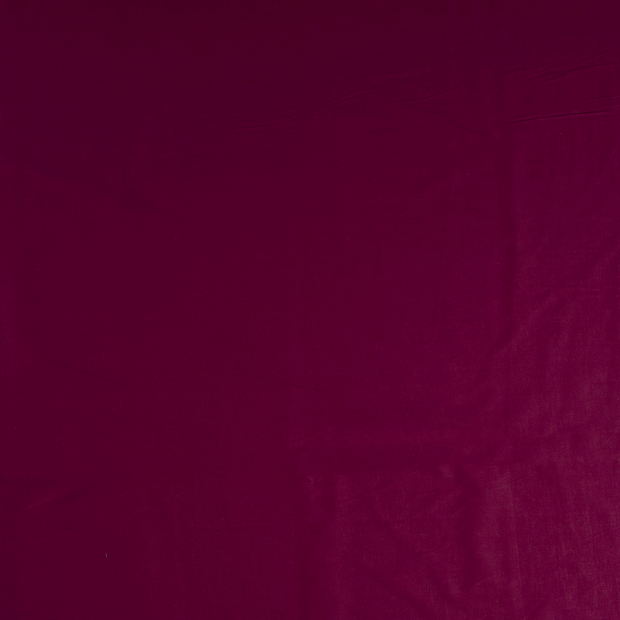 Voile fabric Wine red soft