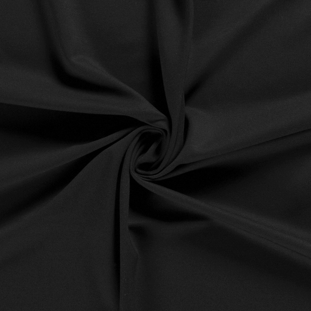 Punta Di Roma fabric Unicolour Black