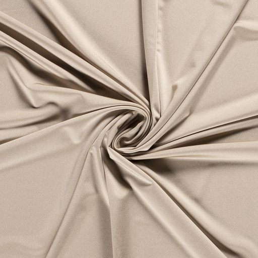 Jersey fabric Unicolour Beige