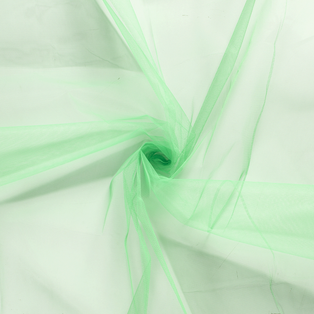 Tulle fabric Green