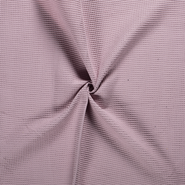 Towelling fabric Old Pink