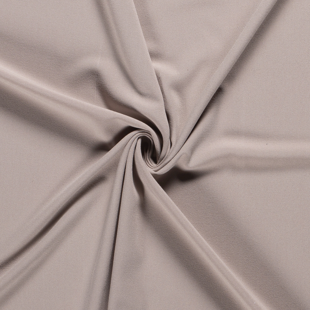 Crepe Fabric fabric Unicolour Beige