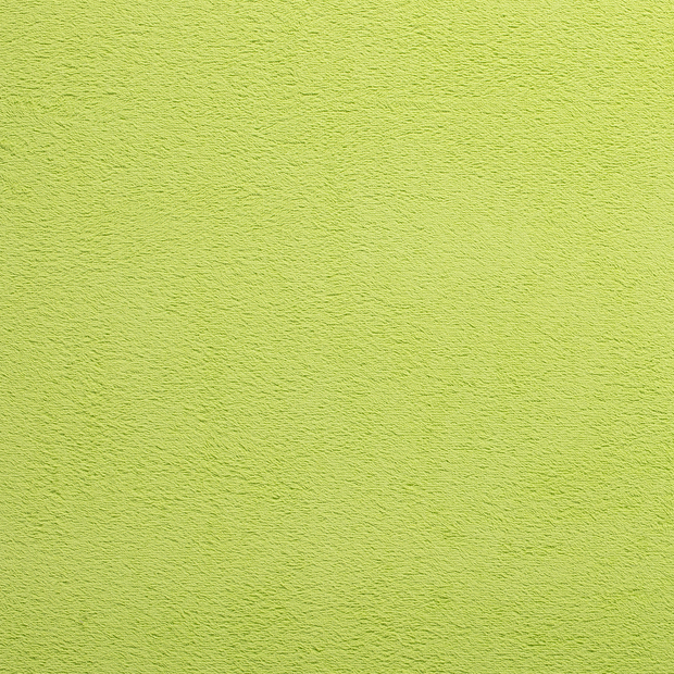 Towelling fabric Lime Green matte