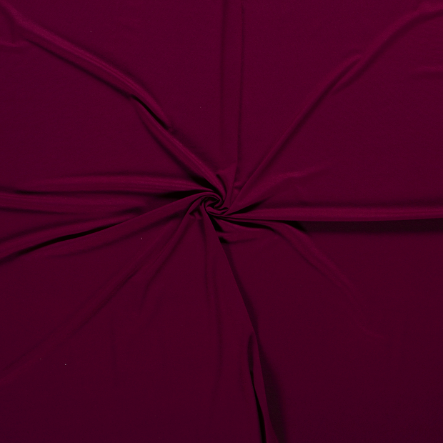Jersey fabric Wine red