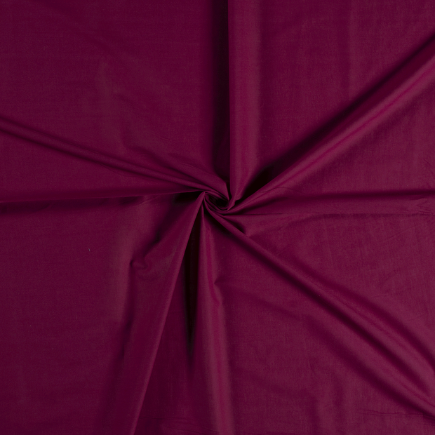 Voile fabric Wine red