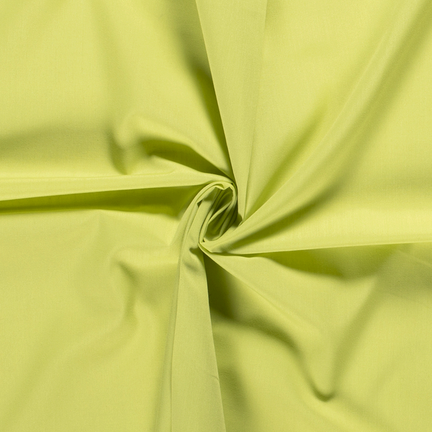 Poplin fabric Unicolour Lime Green